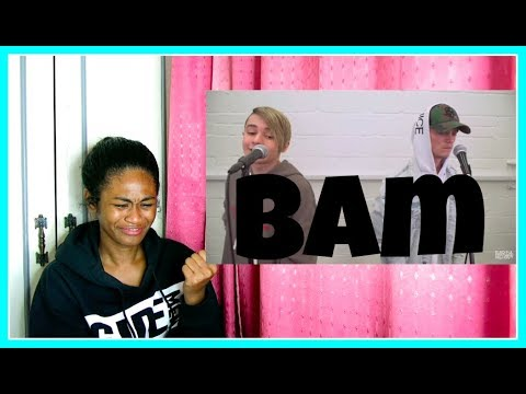 Ariana Grande - No Tears Left To Cry || Bars and Melody COVER | Reaction
