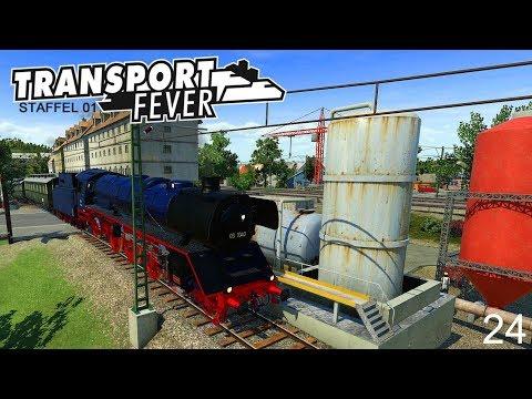 TRANSPORT FEVER - STAFFEL 01 #24 Live 🚂 Schönbau I Neue Strecken und Züge [Deutsch/HD]