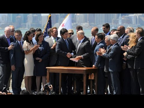 AB 398 (Cap-and-Trade Extension) Bill Signing Ceremony