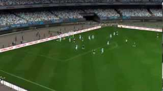 Napoli-Juventus |PES 2014| |GAMEPLAY| |ITA|