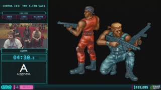 Contra III: The Alien Wars by Aquas in 23:29 - AGDQ 2018 - Part 20