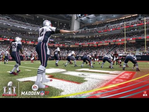 Madden NFL 17 | New England Patriots vs. Atlanta Falcons Super Bowl 51 Prediction