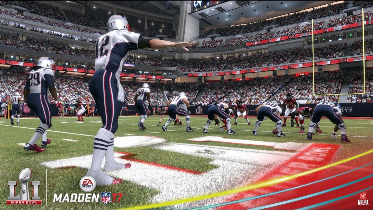 Madden NFL 17 | New England Patriots vs. Atlanta Falcons Super Bowl 51 Prediction - YouTube