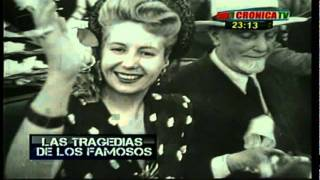 TRAGEDIAS DE FAMOSOS - CRONICA TV - JUAN DUARTE  ( 17  parte )