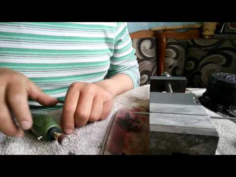 Изготовление мормышек из вольфрама в домашних условиях видео