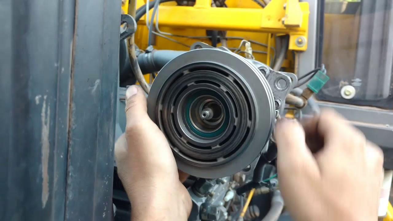 Problema Aire Acondicionado Tractor John Deere 7800 Solucion A Campo Youtube
