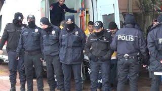 Yaralı askerler Kilis Devlet Hastanesi ne getirildi