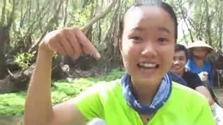 Hướng dẫn viên Trang Lê   Rừng tràm Trà Sư, An Giang