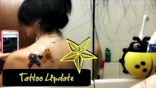 A quick Update how my Tattoo is doing Then run a ton of errands Then Make I have No idea Chicken for dinner We are DailyYoutubeVloggers With A