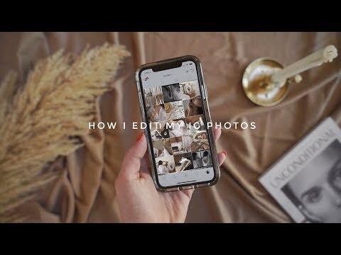 How I Edit My Instagram Photos 2018 | Gemary