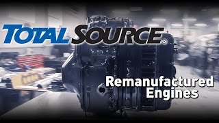 TotalSource: Remanufactured Engines