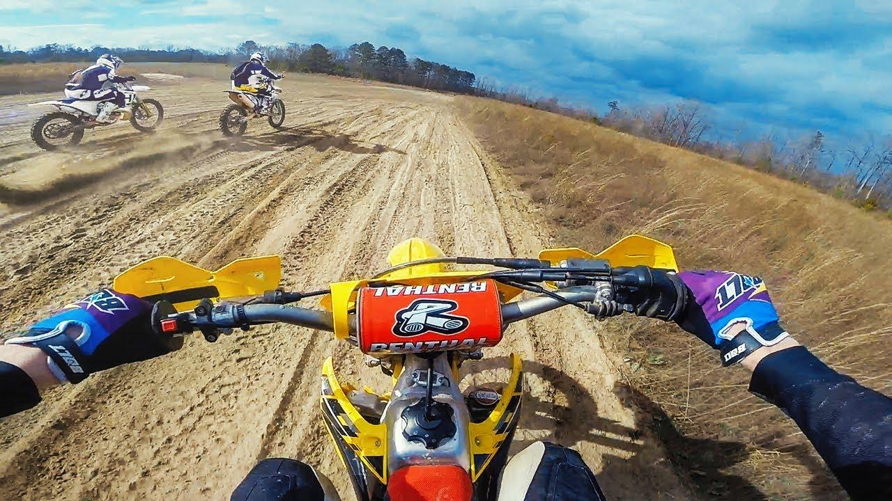 Dirt Bike DRAG RACE!