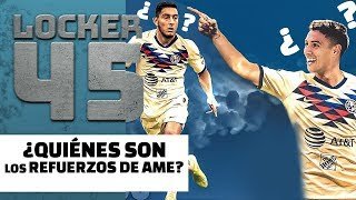 REFUERZOS DEL AMÉRICA | LOCKER 45