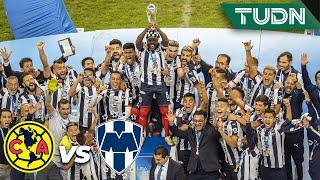 ¡Monterrey levanta el título!  | América 2 (2) - (4) 1 Monterrey | Final  Liga MX  AP 19 | TUDN