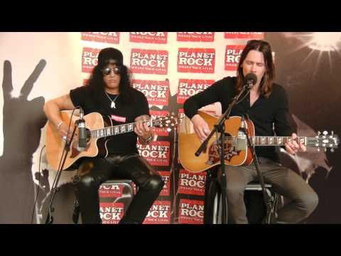 Slash (Feat Myles Kennedy) – Bent To Fly (Planet Rock Live Session)