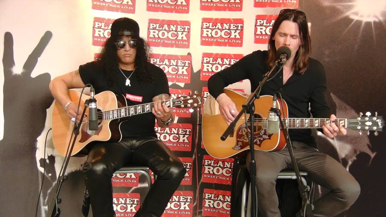 Slash (Feat Myles Kennedy) - Bent To Fly (Planet Rock Live Session)