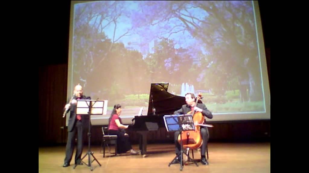 Astor Piazzolla - Primavera porteña - for flute, cello and piano ...