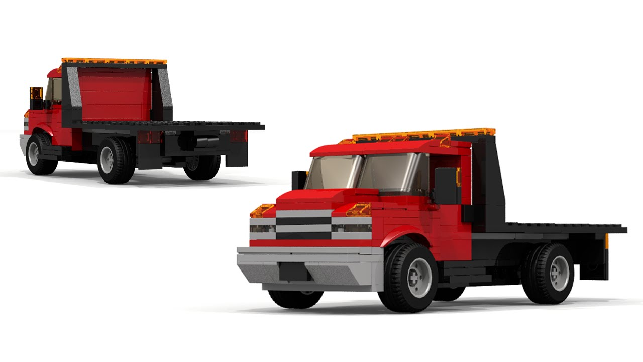 LEGO MOC Chevrolet Flatbed Truck Building Instructions ...