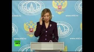 Мария Захарова проводит еженедельный брифинг (7 декабря 2016)