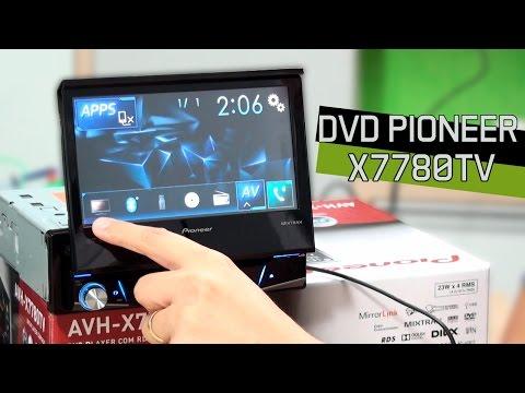 DVD Pioneer AVH-X7780TV - TV Digital e AppRadio Live