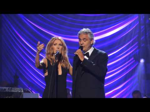 Celine Dion and Andrea Bocelli duet