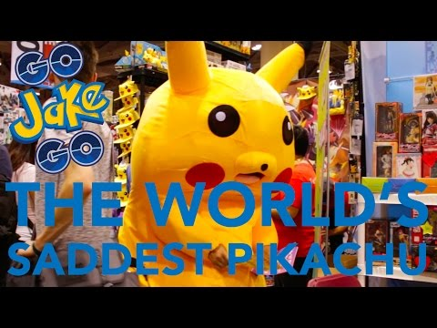 The WORLD'S SADDEST PIKACHU!