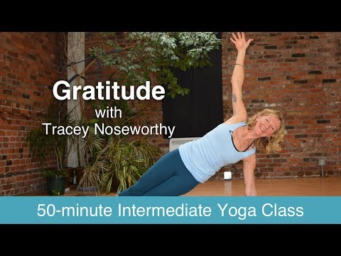 Power Yoga with Tracey Noseworthy - Gratitude