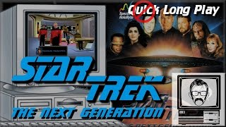 Star Trek TNG A Final Unity - MSDOS [Quick Play] | Nostalgia Nerd