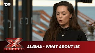 Albina synger 'What About Us' - Pink (Bootcamp) | X Factor 2019 | TV 2