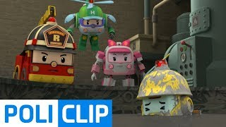 How do you get it out of cement?   Robocar Poli Rescue Clips