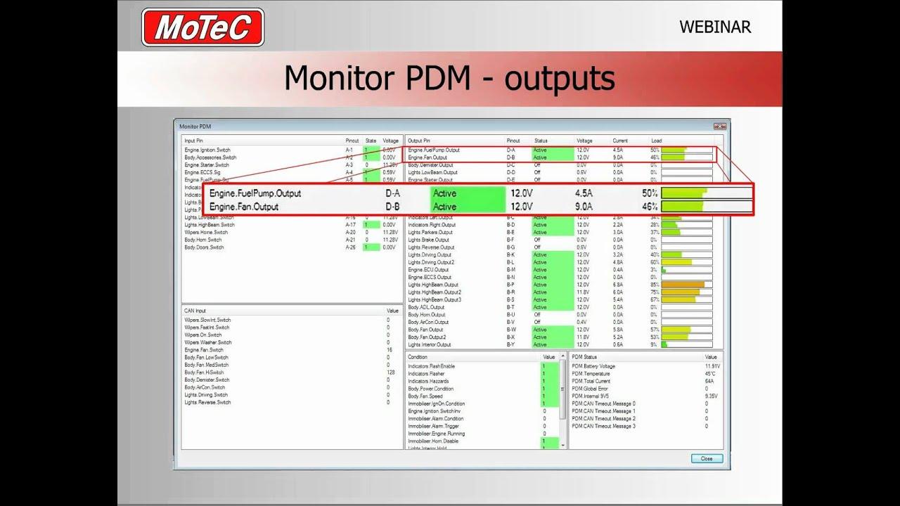 Pdm Power Distribution Module