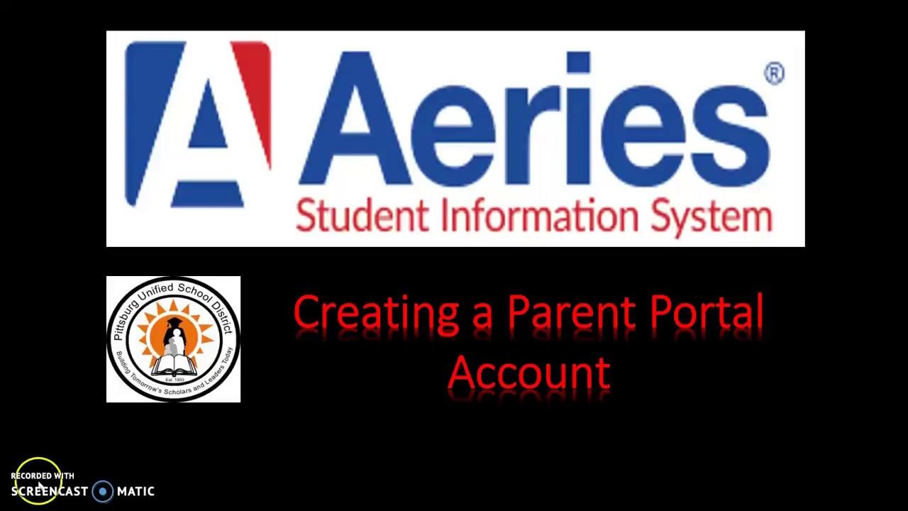 Aeries Parent Portal / Parent Portal Overview
