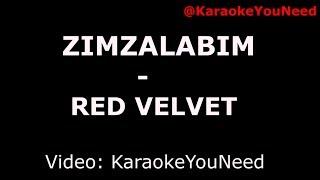 [Karaoke] Zimzalabim - Red Velvet