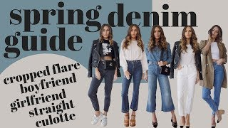 Spring Denim Guide | How to Style 5 Denim Jean Types