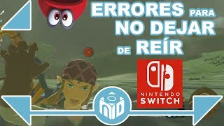 Los Glitches y Errores más DIVERTIDOS en Nintendo Switch | N Deluxe