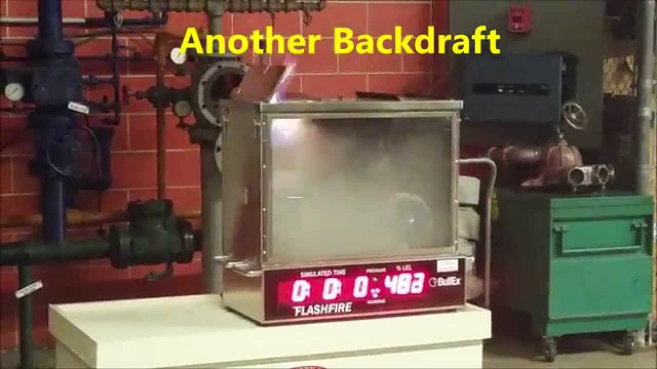 (OLD) Fire Department - Tabletop Flashfire Simulator (Flashover, Backdraft,  LEL, UEL)