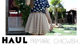 Haul primavera: Primark, Mulaya, Chicwish, Stradivarius Thumbnail