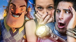ANIMA E SABRINA GIOCANO AD UN HORROR! Hello Neighbor