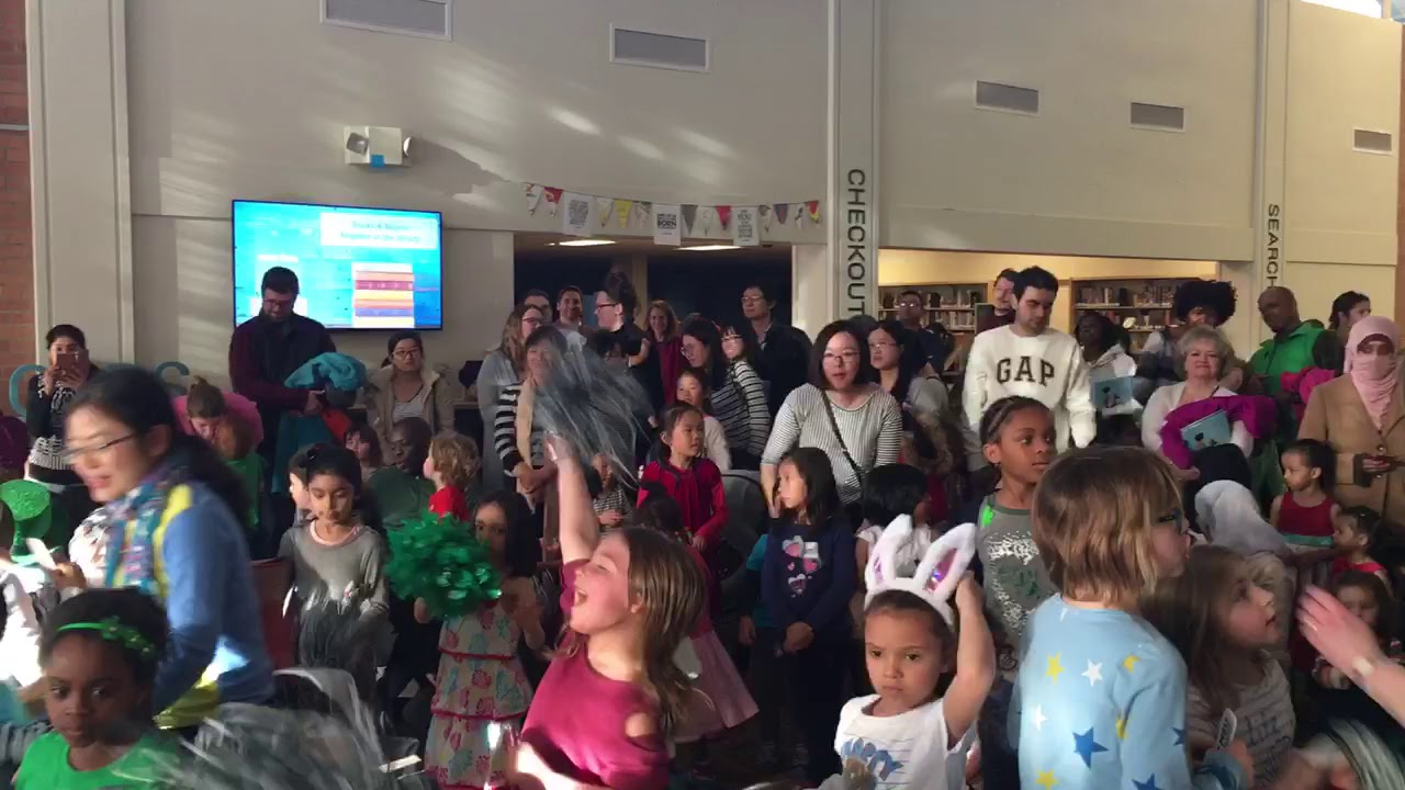 Family Dance Party at the East Lansing Public Library
