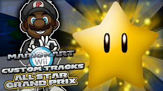 Mario Kart Wii Custom Tracks w/ PKSparkxx | All Star Grand Prix (Season 2 FINALE)