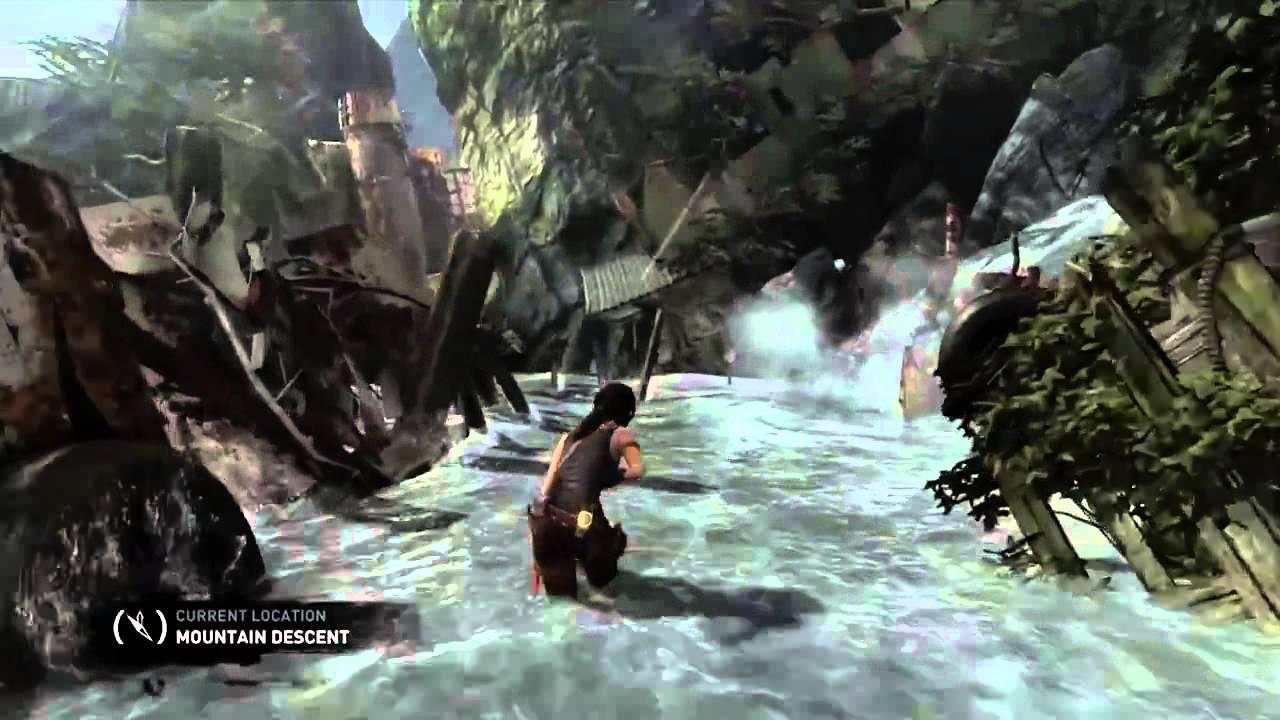 Tomb Raider 2013 Walkthrough Part 1 10 Minutes Of Gameplay