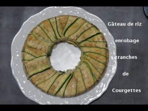 Couronne De Courgettes Farcie Au Riz Youtube