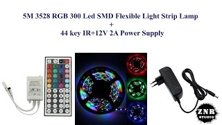 Unboxing 5M 3528 RGB 300 Led SMD