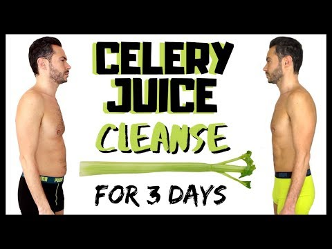 guy-tries-3-day-celery-juice-cleanse-🥬-weight-loss-transformation-challenge
