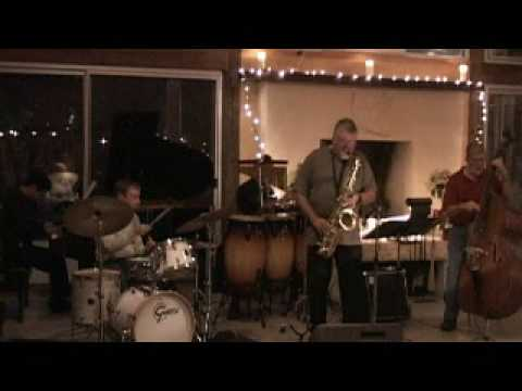 Danny Fisk playing Jazz in Boerne Texas (part 1)