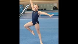 Competitng the new USAG 2013 level 5 gymnastics floor routine