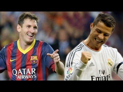 Cristiano Ronaldo VS Lionel Messi Amazing Skills Show 2014-2015