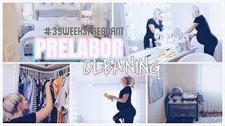 EXTREME CLEANING ROUTINE | PREGNANCY EDITION CLEAN WITH ME 39 weeks pregnant