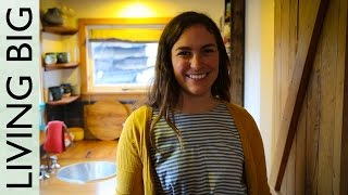 Young Woman Builds Beautiful Recycled Tiny House For US$19,000