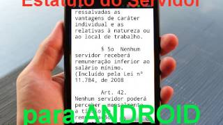 Estatuto do Servidor Público para Android